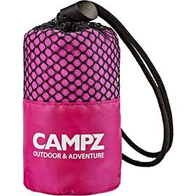 CAMPZ Serviette en microfibre 30x60cm, pink